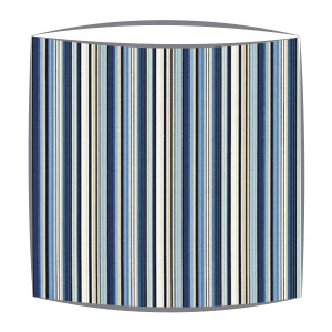 Scion Strata Fabric Lampshade in Denim
