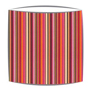Scion Strata Fabric Lampshade in Fuchsia
