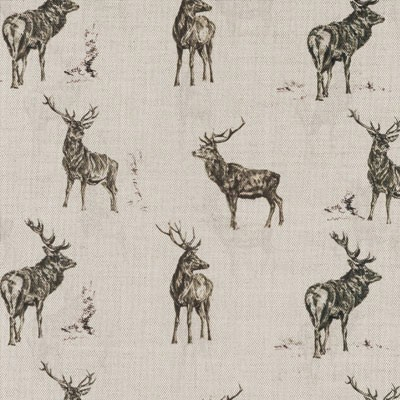 Stag Parade Fabric Lampshade