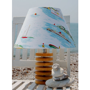 Cath Kidston Boats fabric lampshade