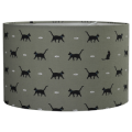 Sophie Allport Cats Fabric Lampshade
