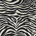 Zebra print fabric lampshade