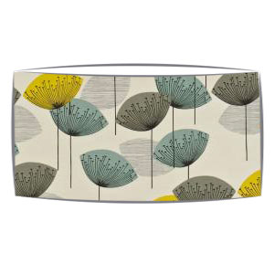 Extra large sanderson dandelion clocks lampshade extra large drum extra large oversized lampshade in sandersons dandelion clocks fabric in chaffinch aloadofball Choice Image
