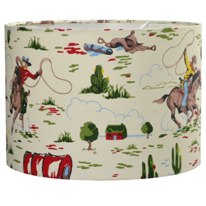 Cath Kidston Cowboy Fabric Lampshade