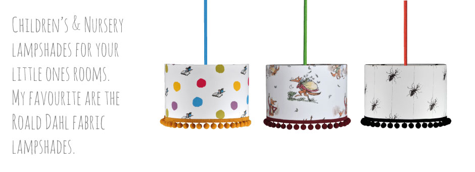 Childrens lampshades nursery lampshades kids lampshades roald childrens nursery lampshades aloadofball Images