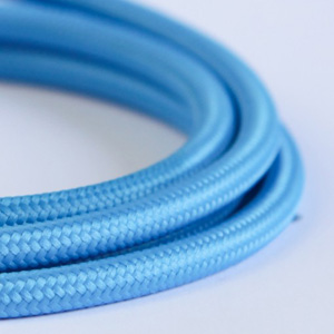 light blue lighting cable