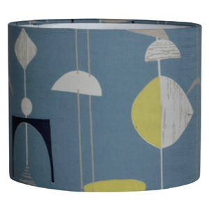 Sanderson Mobiles Fabric Lampshade in Slate