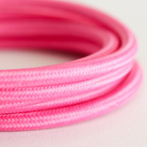 pink lighting cable