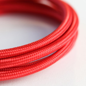 red lighting cable