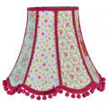 Traditional Scalloped Lampshade in Cath Kidston Fabrics