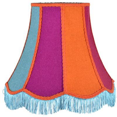 Products 1919 shady lady lampshades traditional scalloped lampshade in harris tweed cloth aloadofball Gallery