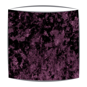 Crushed Velvet Lampshade in Berry