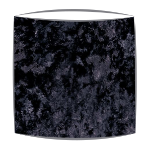 Crushed Velvet Lampshade in Charcoal