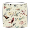 Alexander Henry June Song Fabric Lampshade in Tea Colour