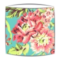 Amy Butler Bliss Bouquet fabric lampshade in Teal