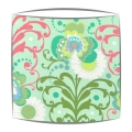 Amy Butler Paradise Garden Fabric Lampshade in Mint