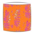 Bon Maison Acacia  Pink & Orange fabric drum lampshade