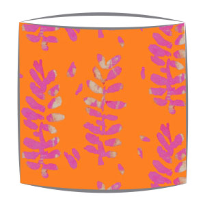 Bon Maison Acacia  Pink & Orange fabric drum lampshade