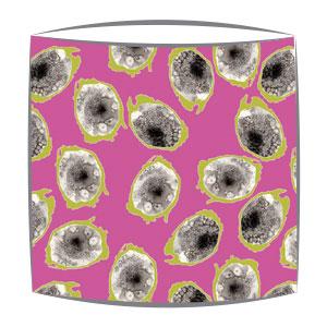Bon Maison Dargonfruit Pink & Green Fabric Lampshade