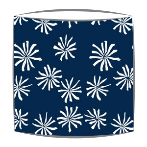 Bon Maison Poppy Lampshade in navy fabric