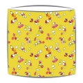 Bon Maison Seeds fabric lampshade in yellow