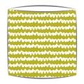 Bon Maison Wavy fabric lampshade in green