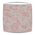 Cabbages and Roses Provence Rose fabric lampshade in pink