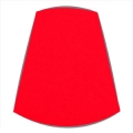 Candle Clip Lampshade for Candelabra or Wall Lights in Red