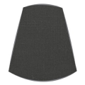 Candle Clip Lampshade for candelabra or wall light in Black linen