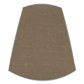 Candle Clip Lampshade for candelabra or wall light in Coffee linen