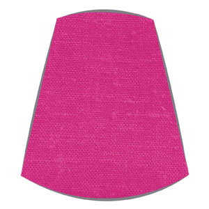 Candle Clip Lampshade for candelabra or wall light in Fuchsia linen