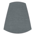 Candle Clip Lampshade for candelabra or wall light in Graphite linen