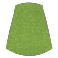 Candle Clip Lampshade for candelabra or wall light in apple green linen