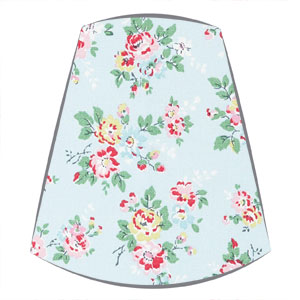 Cath Kidston Fabric Candle Clip On Lampshade in Kingswood Rose