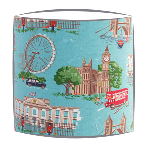 Cath Kidston London Scene fabric lampshade (2)