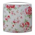 Cath Kidston lampshade in Rosali white fabric