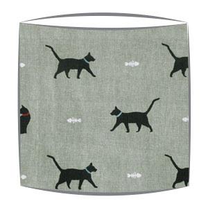 Cats Fabric Drum Lampshade
