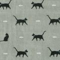 Cats fabric lampshade