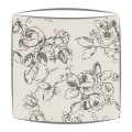Clarke and Clarke Delphine lampshade in charcoal