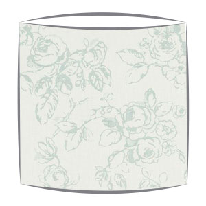 Clarke and Clarke Delphine lampshade in duck egg