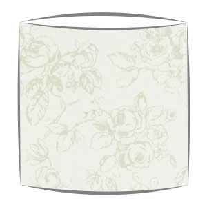 Clarke and Clarke Delphine lampshade in sage