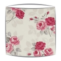 Clarke and Clarke Nancy lampshade in rose