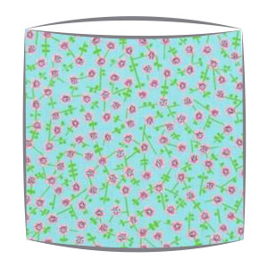 Designers Guild Primrose Hill fabric lampshade in Turquoise