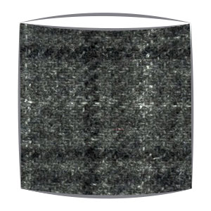 Harris Tweed Grey checks fabric Lampshade
