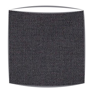 Lampshade in dark grey fabric