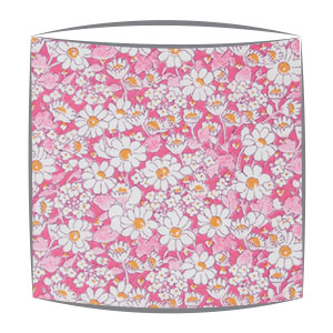 Liberty Alice W B Tana Lawn fabric lampshade in pink