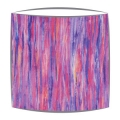 Liberty Art Tana Lawn fabric lampshade in violet small