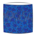 Liberty Hubert A Tana Lawn fabric Lampshade in blue