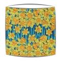 Liberty Hubert A Tana Lawn fabric Lampshade in yellow