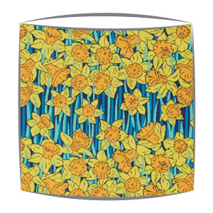 Liberty Hubert A Tana Lawn fabric Lampshade in yellow